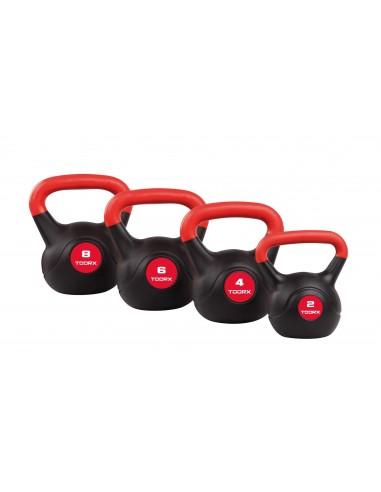 Toorx - Kettlebell kg 6 rivestita in pvc