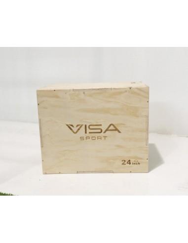 Visa Sport - Plyo Box Legno 3 x 1